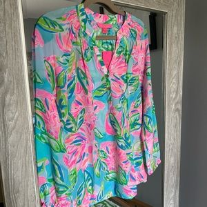 NWT Elsa Top - Totally Blossom - Size XS